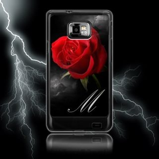 Red Rose Custom Samsung Galaxy S2 SII Case  Personalised