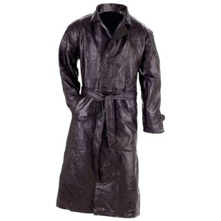 Giovanni Navarre™ Italian Stone™ Design Genuine Leather Black