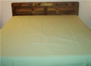 TOMMY BAHAMA 100% EGYPTIAN COTTON QUEEN BEDSPREAD MADE IN ITALY