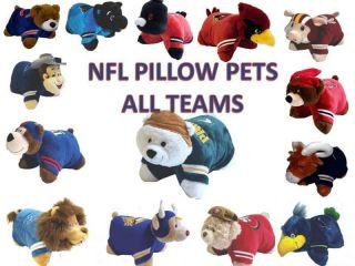 NFL Pillow Pet NFL Football Team Pillow Pets Hurry