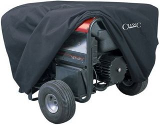 New Classic Accessories Generator Cover Large Black Weather Resistant