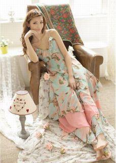 Bohemian Maxi Floral Long Chiffon Gisele Dress Beach Dress