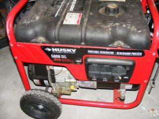 Husky 5000 Continuous 6500 Peak Watt Generator