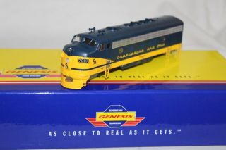 Genesis HO Locomotive Shell Chesapeake Ohio F7A Phase 2 7087 G1609 S36