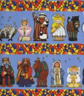 Nativity Gift Wrapping Paper Large 6 Sheet Gift Wrap