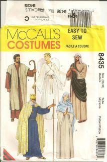 Uncut McCalls Pattern 8435 Christmas Nativity Scene Costumes