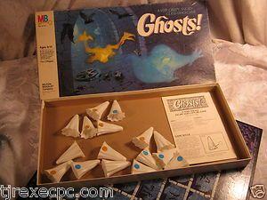 Ghosts Vintage Board Game Halloween Glow in The Dark