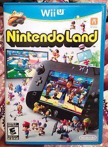 Nintendo Wii U Nintendo Land Game Super Mario Bros Madden 13