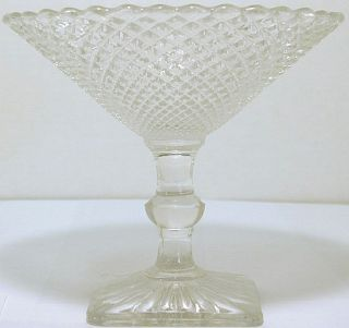 Anchor Hocking Vintage Depression Glass Miss America Pattern Crystal