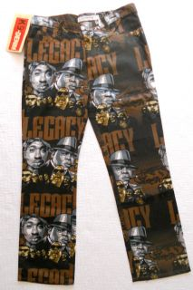 Biggie Smalls Legacy Rap Gangsta Hip Hop Jeans Retail $44 99