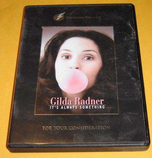 GILDA RADNER STORY DVD ~ RARE Ita Always Something   Saturday Night