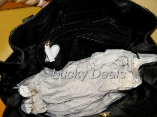 New Michael Kors Gansevoort LG Tote Handbag Bag Black