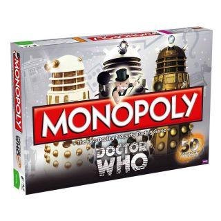Who Monopoly Matt Smith Karen Gillan Jenna Louise Coleman