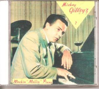 Mickey Gilley CD Rockin Rollin Piano New SEALED 32 Tracks