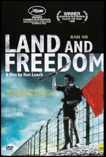 Land and Freedom 1995 Ian Hart Tom Gilroy DVD New