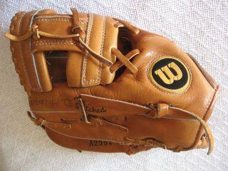 Wilson George Brett MVP 390 baseball glove A2352 Left Hand Throw