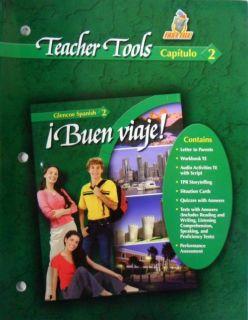 Glencoe Spanish 2 Buen Viaje Teacher Tools Capitulo 2