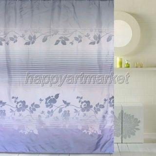 Garden fresh flowers Pattern Bathroom Beautiful Fabric Shower Curtain
