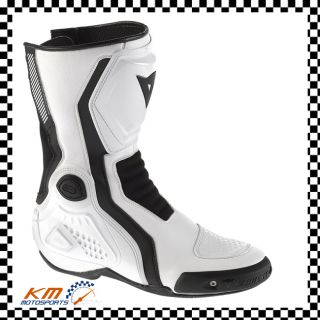Dainese Giro St Boots White Black Motorcycle Stivale St Mens New