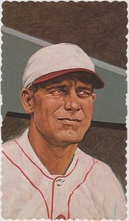 George Sisler   Ar Card Series #20   1984 RGI   Oil Paining by Ron