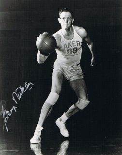 George Mikan Basketball HOFER 8 x 10 Authentic Autograph OBTAINED in