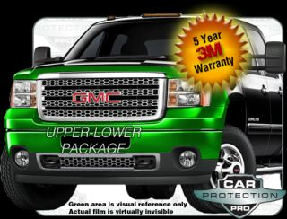 GMC Sierra Denali 2013 2012 2011 Scotchgard 3M Clearbra Paint