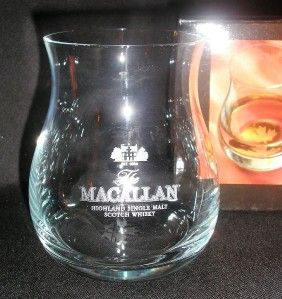 THE MACALLAN OFFICIAL GLENCAIRN CANADIAN WHISKY GLASS ( SCOTCH WHISKY