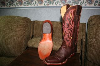 Justin Girls Ladies Womens Cowboy Boots