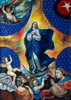 Art Large Oil painting Cuban Artist Cuba FERNANDO GODERICH FABARS 19