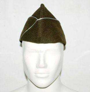 US WWII WW2 US AIRBORNE PARATROOPER WOOL GARRISON CAP L 31929
