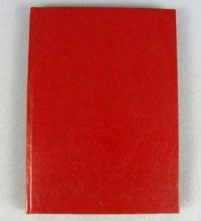 Russian Taras Bulba Nikolai Gogol Red Hardcover Novella Book