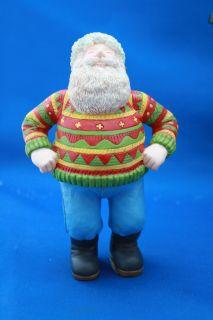 Santa Clause Christmas Carol Figurine