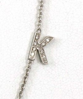 Roberto Coin 18K Gold Diamonds Ladies K Necklace