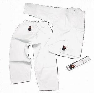 WHITE Karate Martial Arts Gi Uniform #000 tkd Child Small 8 10 New