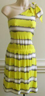 Gianni Bini Womens One Shoulder Dress New Discount