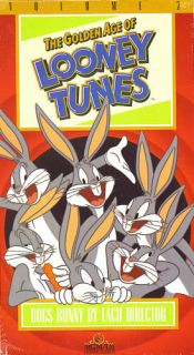 Lot 2 Bugs Bunny VHS Golden Age of Looney Tunes SEALED Warner Bros