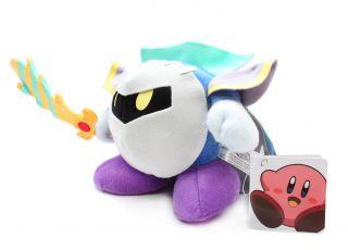 Authentic Brand New Global Holdings Kirby Plush 5 Meta Knight Stuffed