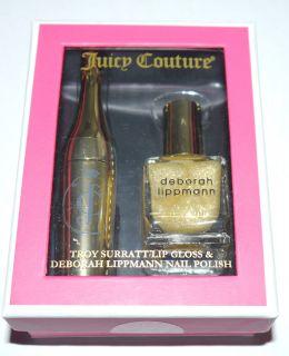 Couture Troy Surratt Lip Gloss Deborah Lippmann Nail Polish Set