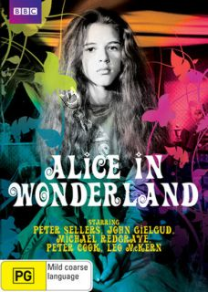 Alice in Wonderland New PAL NTSC DVD Gielgud Sellers