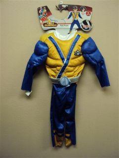 Boys Disguise Toddler Costume Power Rangers Gold Ranger N w T