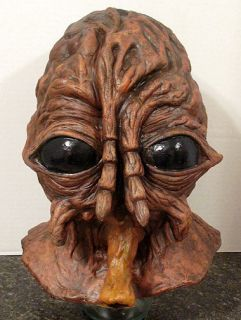 1986 version Brundlefly Jeff Goldblum head prop mask bust brundle fly
