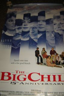 Chill 15 Anniversary Movie Poster Original Glenn Close Jeff Goldblum