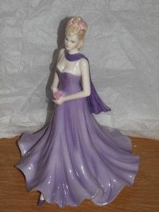 Coalport Classic Elegance Lady Figurine REBECCA modelled by Jack Glynn