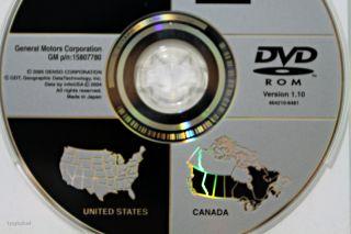 Chevrolet Cadillac GMC GM Navigation DVD Suburban Yukon Tahoe DTS