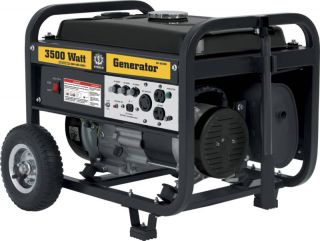 New 3500 Watt Gas Generator