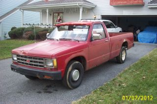 1985 Chevy S10 GMC S15 Pickup Truck 4 Speed 147K