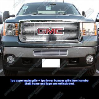 2011 2012 GMC Sierra 2500 3500 Perimeter Grille Insert Combo