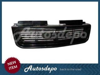 98 04 03 02 01 00 GMC Sonoma Grille Blk Headlight Set