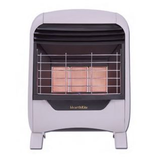 radiant vent free natural gas wall heater model hr20en 20000