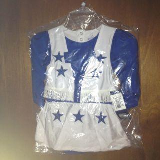 Dallas Cowboys Infant Cheer Uniform 24 Months